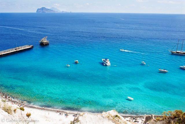Lipari beach