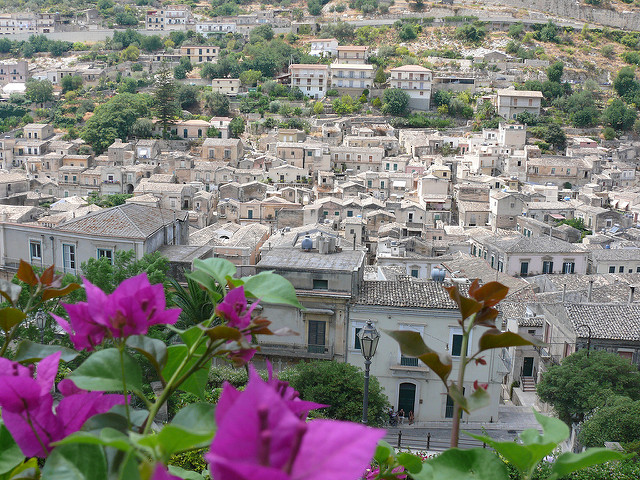 a view of modica