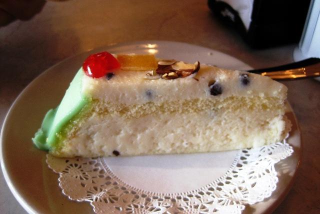 sicilian cassata slice