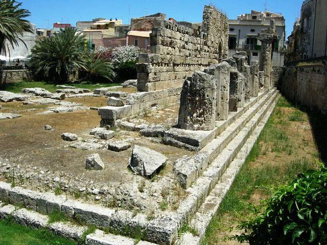 Apollo temple ruins