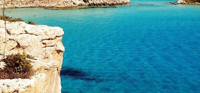 Rabbit Beach in Lampedusa, one among the most beautiful beaches of the world