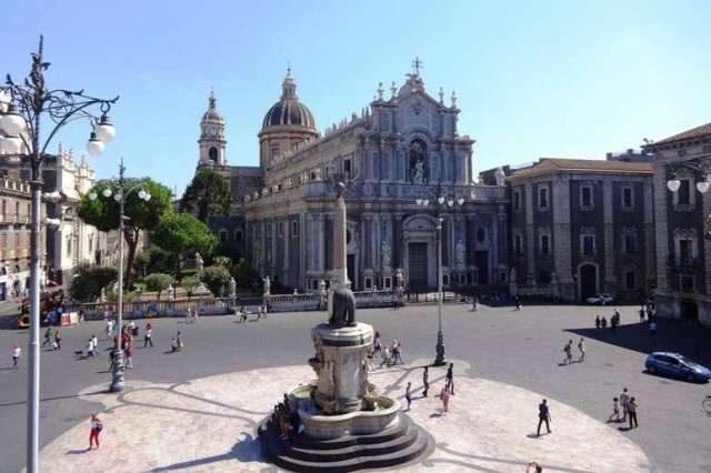 Centre of Catania