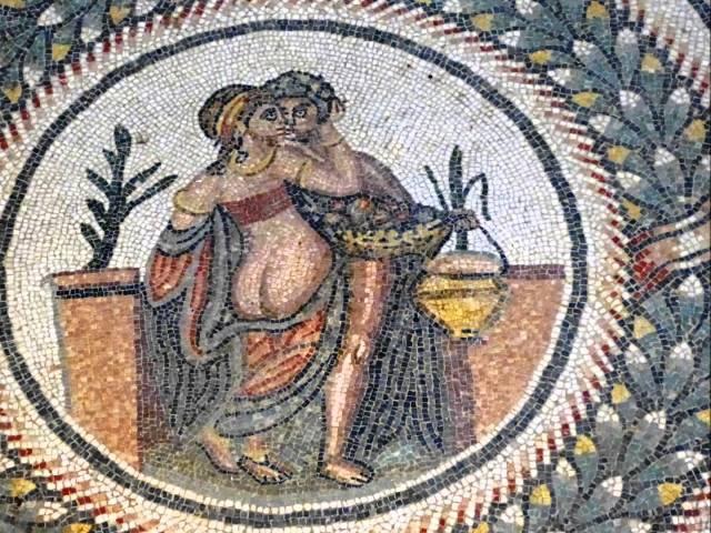 erotic mosaic villa romana del casale