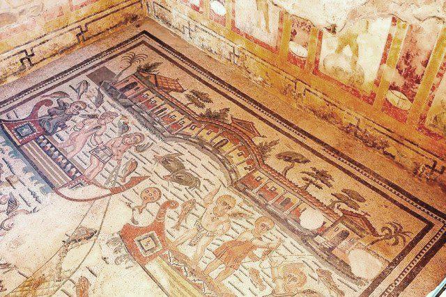 villa romana del casale mosaic