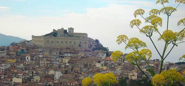 Montalbano Elicona, the medieval village looking like a fairy tale