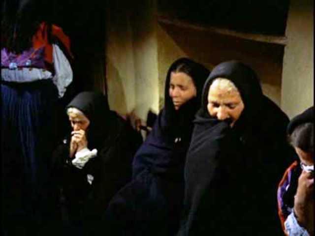 Sicilian mourners