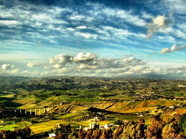 Caltanissetta landscape