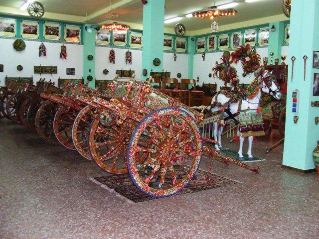 Bronte Sicilian chariot museum
