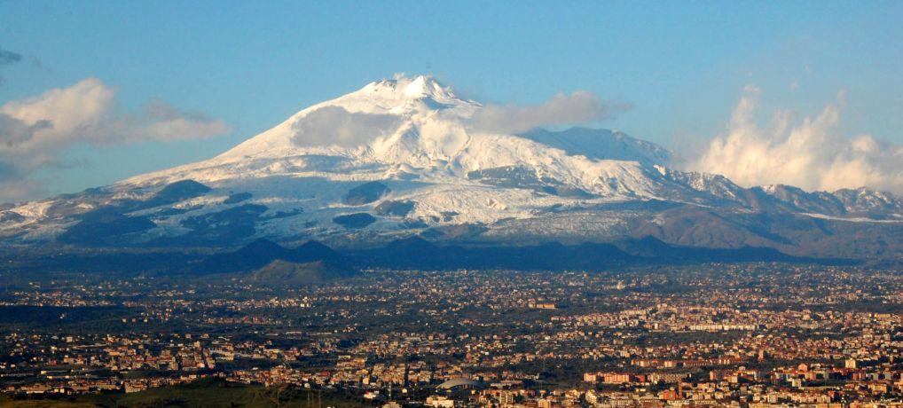 Etna Volcano Sicily On Web