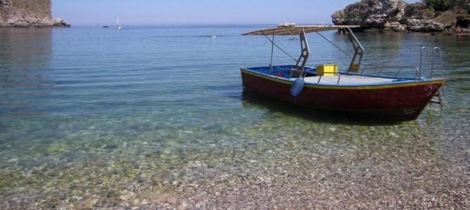 Giardini Naxos, the Greek sea village of Sicily