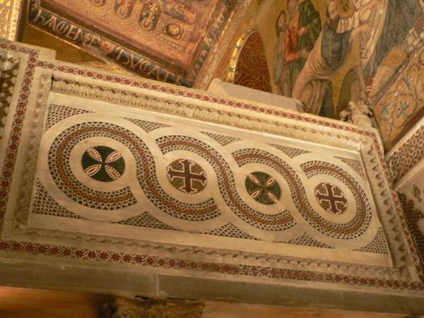 palatine chapel- arab mosaic