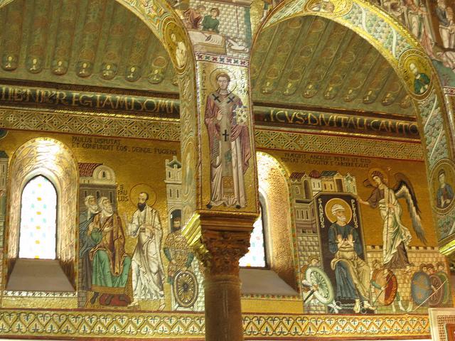 palatine chapel - sacred mosaic