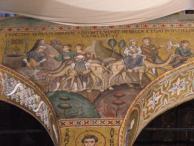 palatine chapel-mosaic